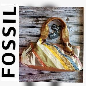 🧡Fossil 🧡 Multi Colored Shoulder Bag
